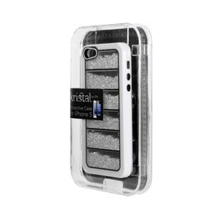STK Kristal Case for Apple iPhone 5S / 5 - White Crystal