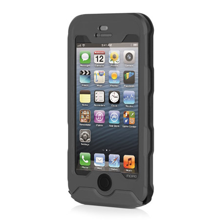sneakers for cheap 20cf4 54da4 Incipio Atlas Waterproof Rugged Case for iPhone 5S / 5 - Grey / Black