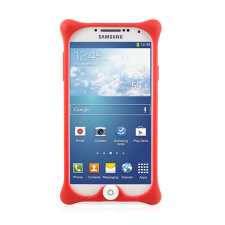 Bone Collection Bubble Case for Samsung Galaxy S4 - Red