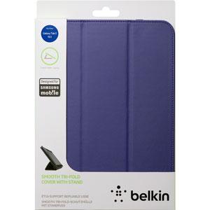 Belkin Tri-Fold Leather Folio for Samsung Galaxy Tab 3 10.1 - Purple