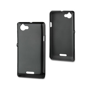 Roxfit Soft Shell Case for Sony Xperia L - Black