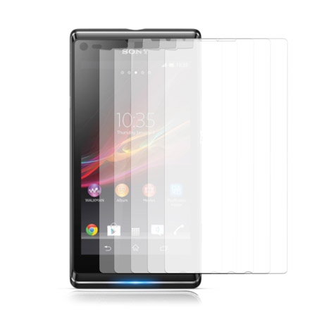 The Ultimate Sony Xperia L Accessory Pack - Black