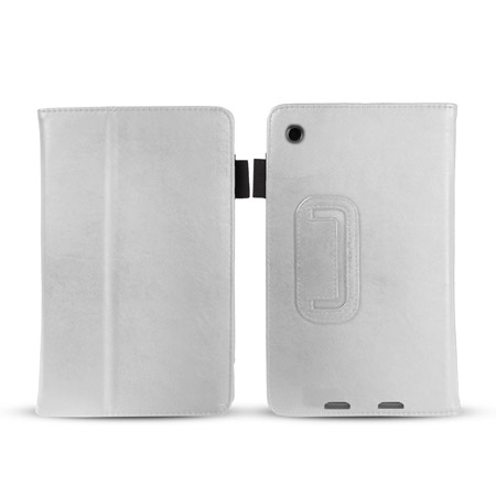 Sonivo Leather Style Case for Google Nexus 7 2013 - White