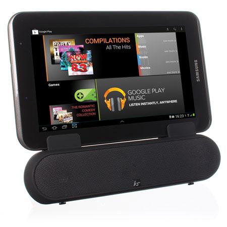 Enceinte support smartphone et tablette KitSound Surround Sound Stand