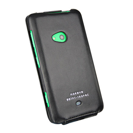 Noreve Tradition Leather Case for Nokia Lumia 625 - Black
