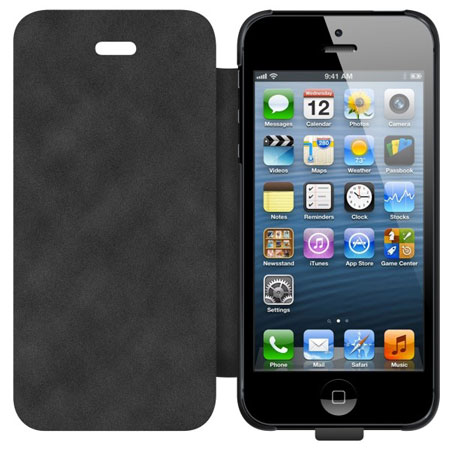 Zens Qi Wireless Charging Case for iPhone 5S / 5 - Black
