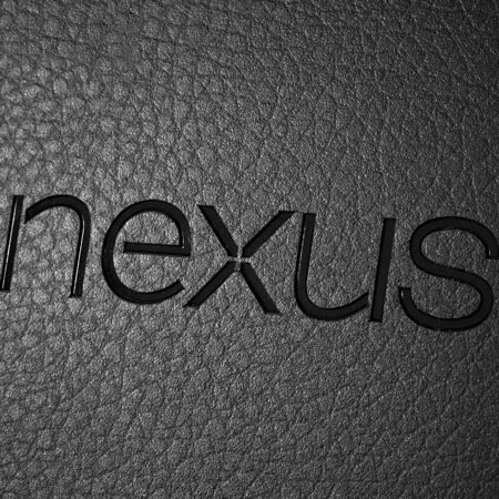 dbrand Textured Cover Skin for Google Nexus 7 - Black Leather