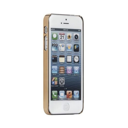 gold iphone 5s case mate barely there studded for iphone 5 5s gold 14203