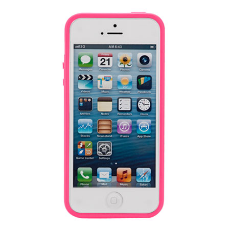 pink iphone 5s mate hula bumper for iphone 5s 5 pink 12776