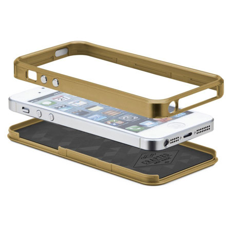 Case-Mate Mother of Pearl Case for iPhone 5S/5 - Gold