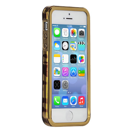Case-Mate Golden Tortoise Case for iPhone 5S/5 - Brown