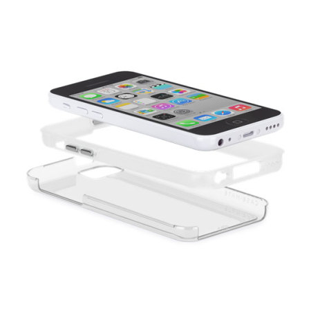 Case-Mate Tough Naked Case for iPhone 5C - Clear/White
