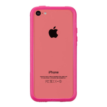 iphone 5c in pink mate hula bumper for iphone 5c pink mobilefun 6170