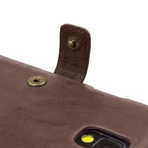 Zenus Retro Vintage Diary Case for Samsung Galaxy Note 3 - Brown