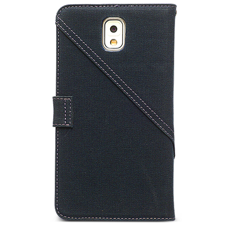 Zenus Masstige Cambridge Diary Case for Samsung Galaxy Note 3 - Navy