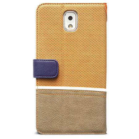 Zenus Masstige Sneakers Diary Case for Samsung Galaxy Note 3 - Camel