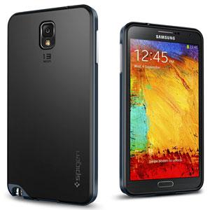 finest selection b456b a5a26 Spigen SGP Neo Hybrid Case for Samsung Galaxy Note 3 - Metal Slate
