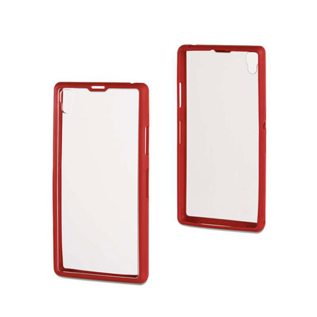 Roxfit Gel Shell Case for Sony Xperia Z1 - Monza Red
