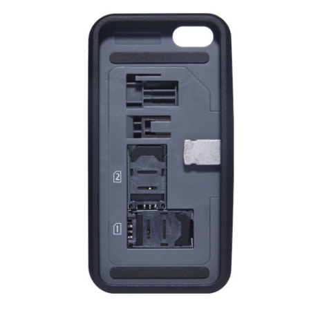 iphone 5s sim thumbsup dual sim for iphone 5s 5 black 11248