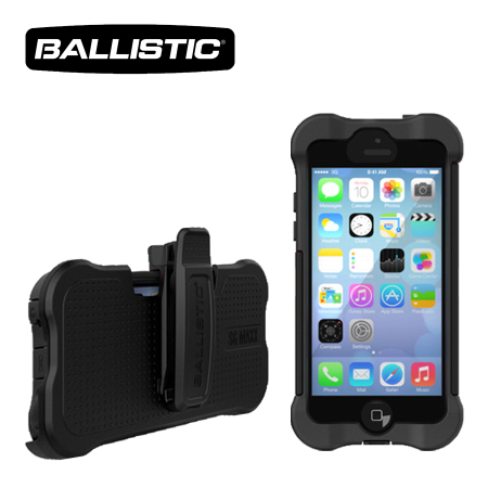 Designed with reinforced Ballistic Corners, every Ballistic case is engineered to protect against at least a 7-foot drop. - MAXX Series cases include a replaceable holster/belt clip, include Integrated silicone port covers, and a replaceable screen protector (use case with or without screen protector).
