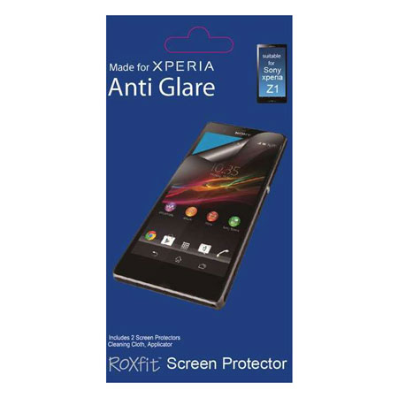 Roxfit 2 Pack Anti Glare Screen Protector for Sony Xperia Z1