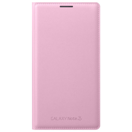 lowest price 5794e aea42 Official Samsung Galaxy Note 3 Flip Wallet Cover - Blush Pink