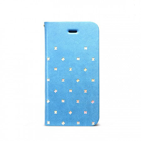Zenus Masstige Z Brogue Diary for iPhone 5C - Blue
