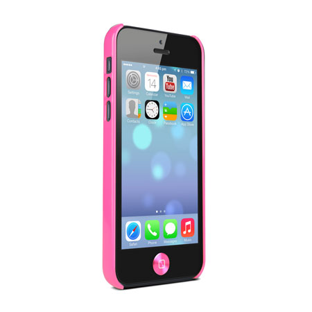 iphone 5c in pink cygnett form pc for iphone 5c pink 14670