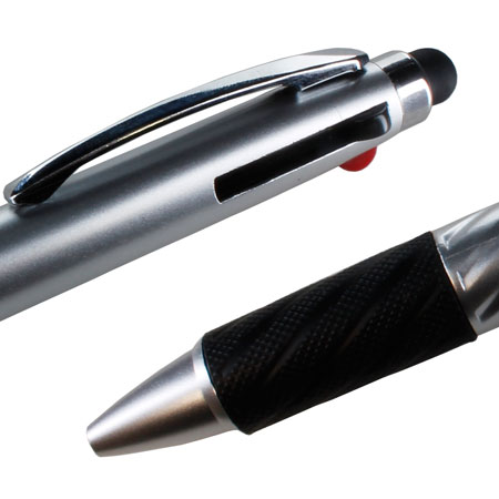 addition the amount iduo multi ink stylus pen silver
