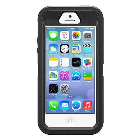 best sneakers 92b6f eab77 OtterBox Defender Series for iPhone 5S / 5 - Black