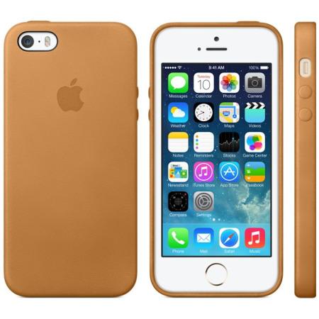 coque iphone 5 cuir marron