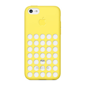 Official Apple iPhone 5C Case - Yellow