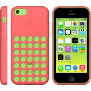 Official Apple iPhone 5C Case - Pink