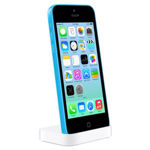 Official Apple iPhone 5C Lightning Charge and Sync Dock - White
