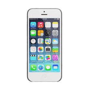 Coque iPhone 5C Pinlo Slice 3 - Noire Transparente