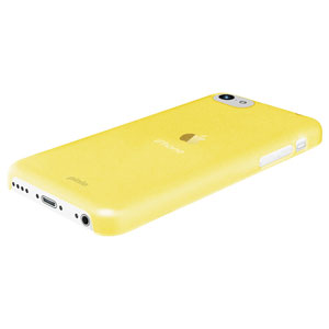 yellow iphone 5c pinlo slice 3 for iphone 5c yellow transparent 13332