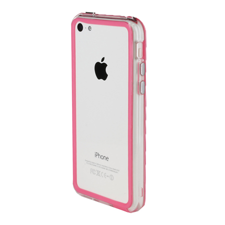 pink iphone 5c case genx bumper for apple iphone 5c pink mobilefun 15865