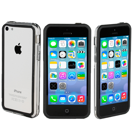 iphone 5c black genx bumper for apple iphone 5c black 11080