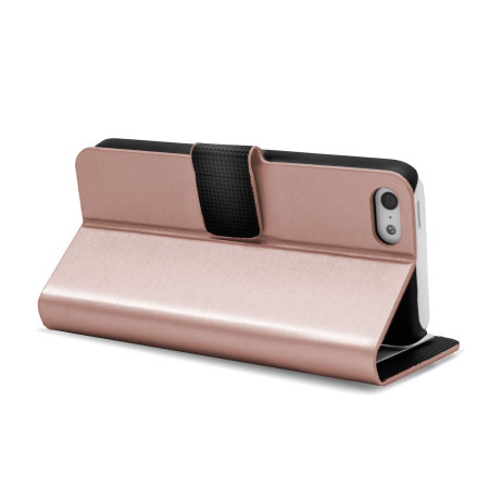 Metalix Book Case For Apple iPhone 5C - Pink