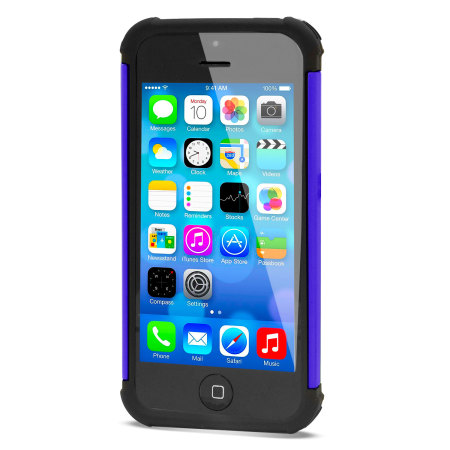 GENx Hybrid Tough Case for Apple IPhone 5C - Purple