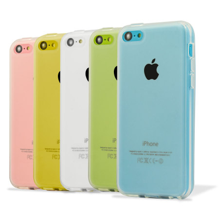 factory price c71a6 a8701 Flexishield Frosted Gel Apple iPhone 5C Case - Clear