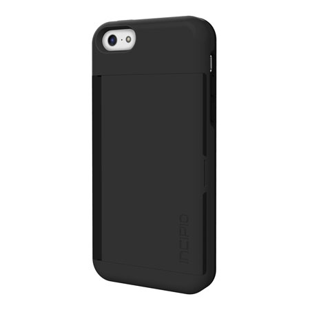 more photos d8bea dd1d8 Incipio Stowaway Credit Card Case for iPhone 5C - Black
