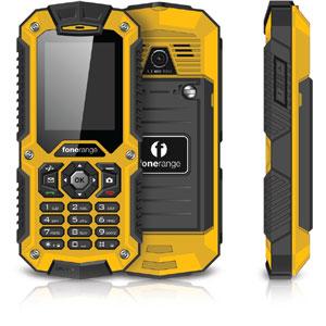 SIM Free Fonerange Rugged 128 Tough Mobile Phone