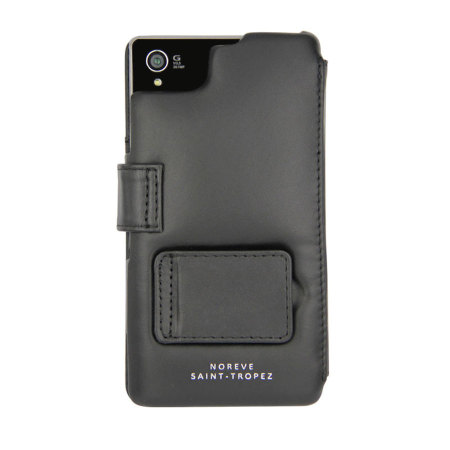 Noreve Tradition B Leather Case for Xperia Z1 - Black
