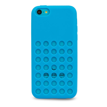 blue iphone 5 case circle for apple iphone 5c blue 5766
