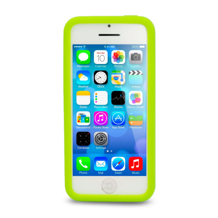 Circle Case for Apple iPhone 5C - Green