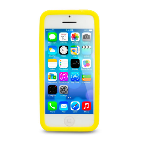 Circle Case for Apple iPhone 5C - Yellow