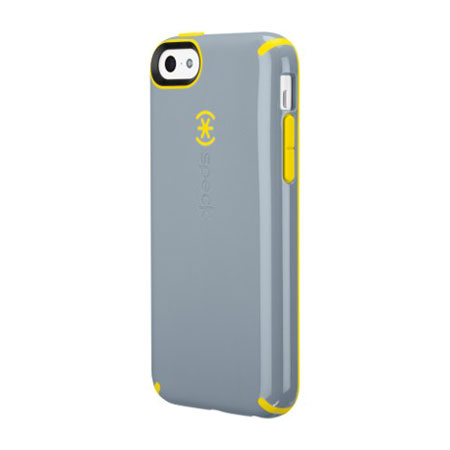 iphone 5c speck case speck candyshell for iphone 5c grey yellow 14704