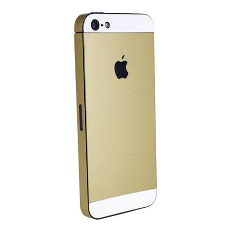 iphone 5s upgrade kit voor iphone 5   goud mobilefun nl