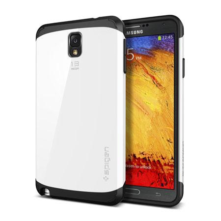 pretty nice 74475 fe8db Spigen Slim Armor Case for Samsung Galaxy Note 3 - Infinity White